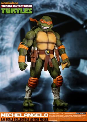 DreamEX 1/6TH Ninja Turtles- Michelangelo/Mikey