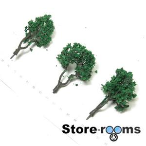 TD98-01 1/150 N Scale Tree Set W fit TOMYTEC TOMIX