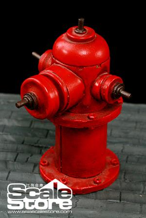 1/6 Scale Store Battle Scene Fireplug P0003