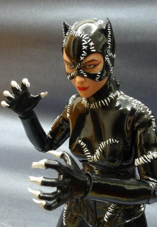 Verycool 1/6 Catwoman TESTA INTAGLIO E ABITI MODELLO TUTA